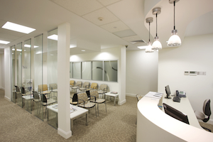 Medical Reception Room built by Building Solutions