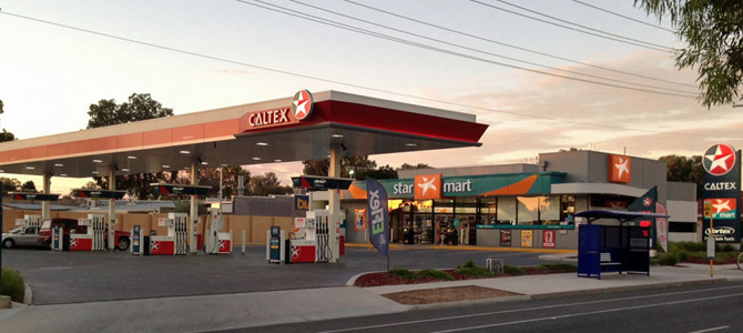 caltex service stations australia