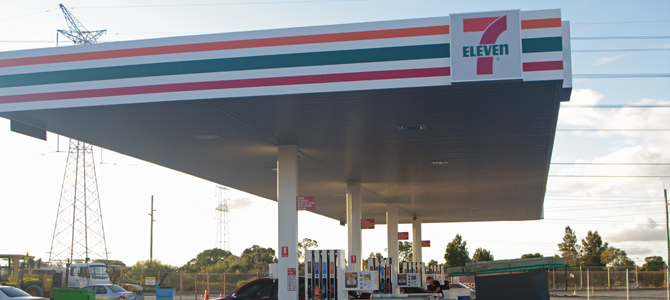 7-Eleven Fuel Malaga Building Solutions