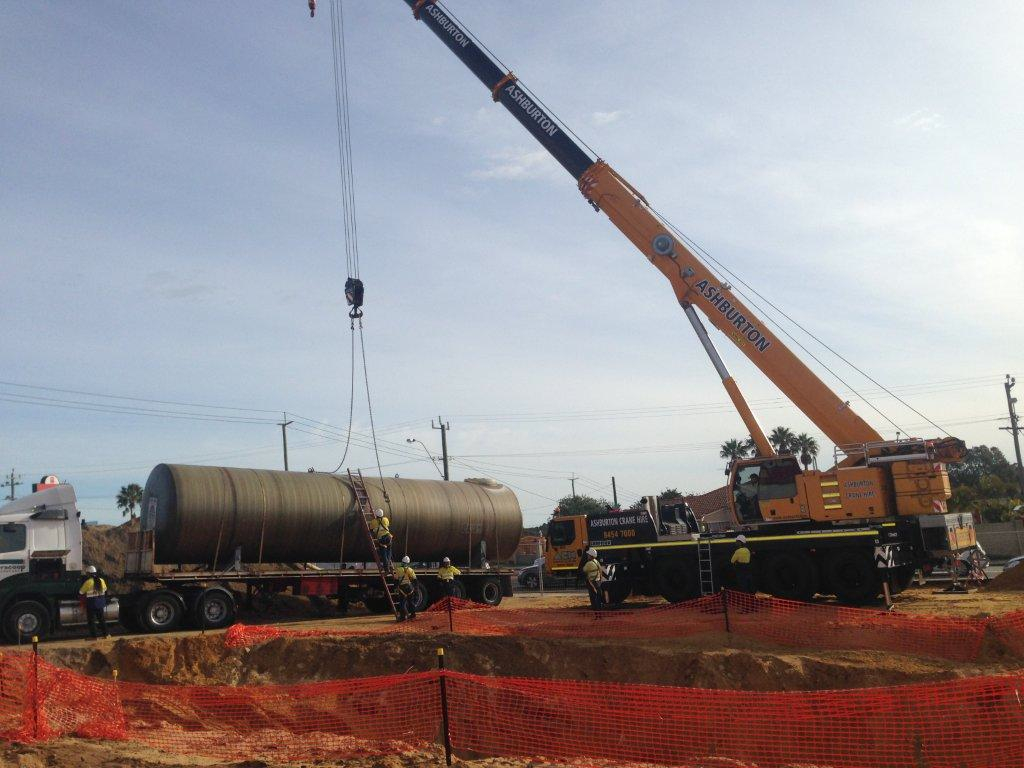 Puma Fuel Tank Delivery, Building Solutions
