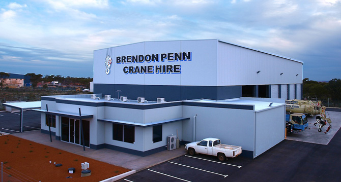 MBA Award Winning building, constructed for Penns Cran Hire