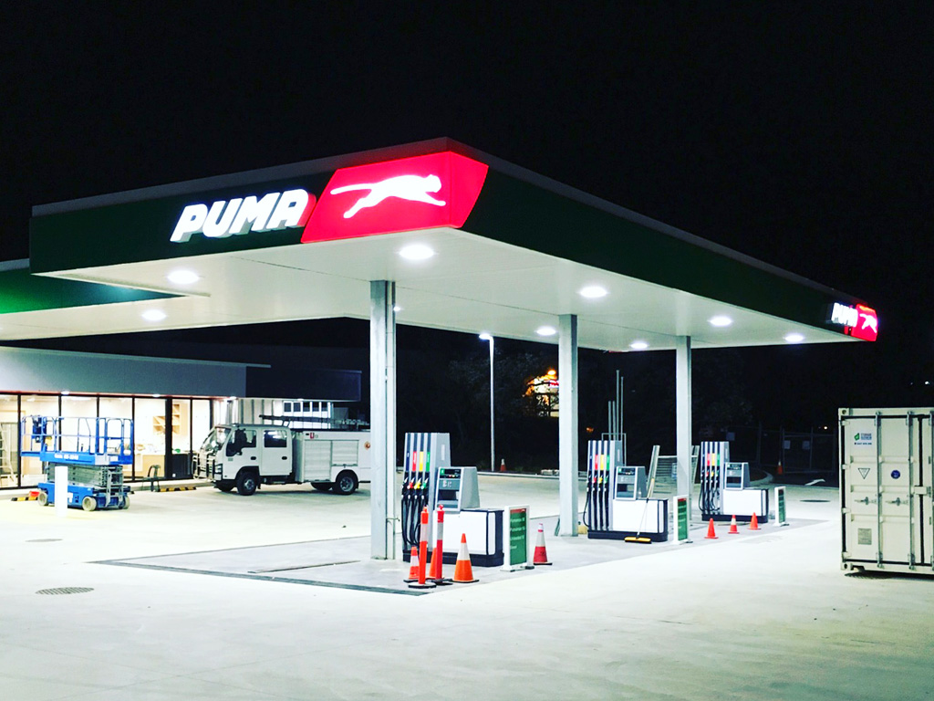 Building Solutions Puma Fuel Station