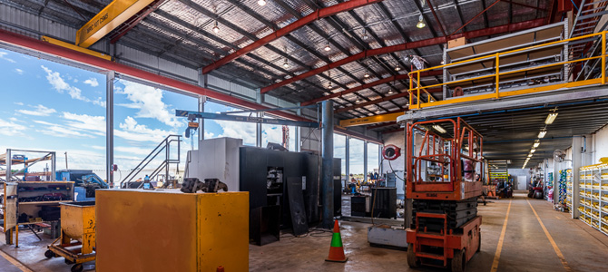 Ausdrill Ltd - Drilling Tools Australia. Workshop & office construction