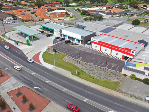 Fuel Station Construction by Building Solutions Perth